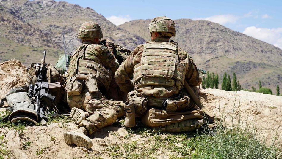 US-Soldaten beim Einsatz in Afghanistan (Juni 2019)