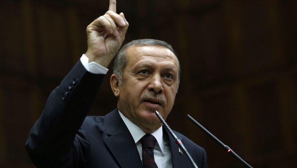 """Türkischer Premier Erdogan: """"Die Entscheidung sollte korrigiert werden."""""""