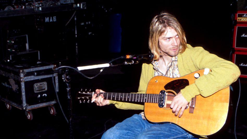 """""""Nirvana""""-Sänger Kurt Cobain: ausdrücklich zur Schau gestellte Empfindsamkeit"""