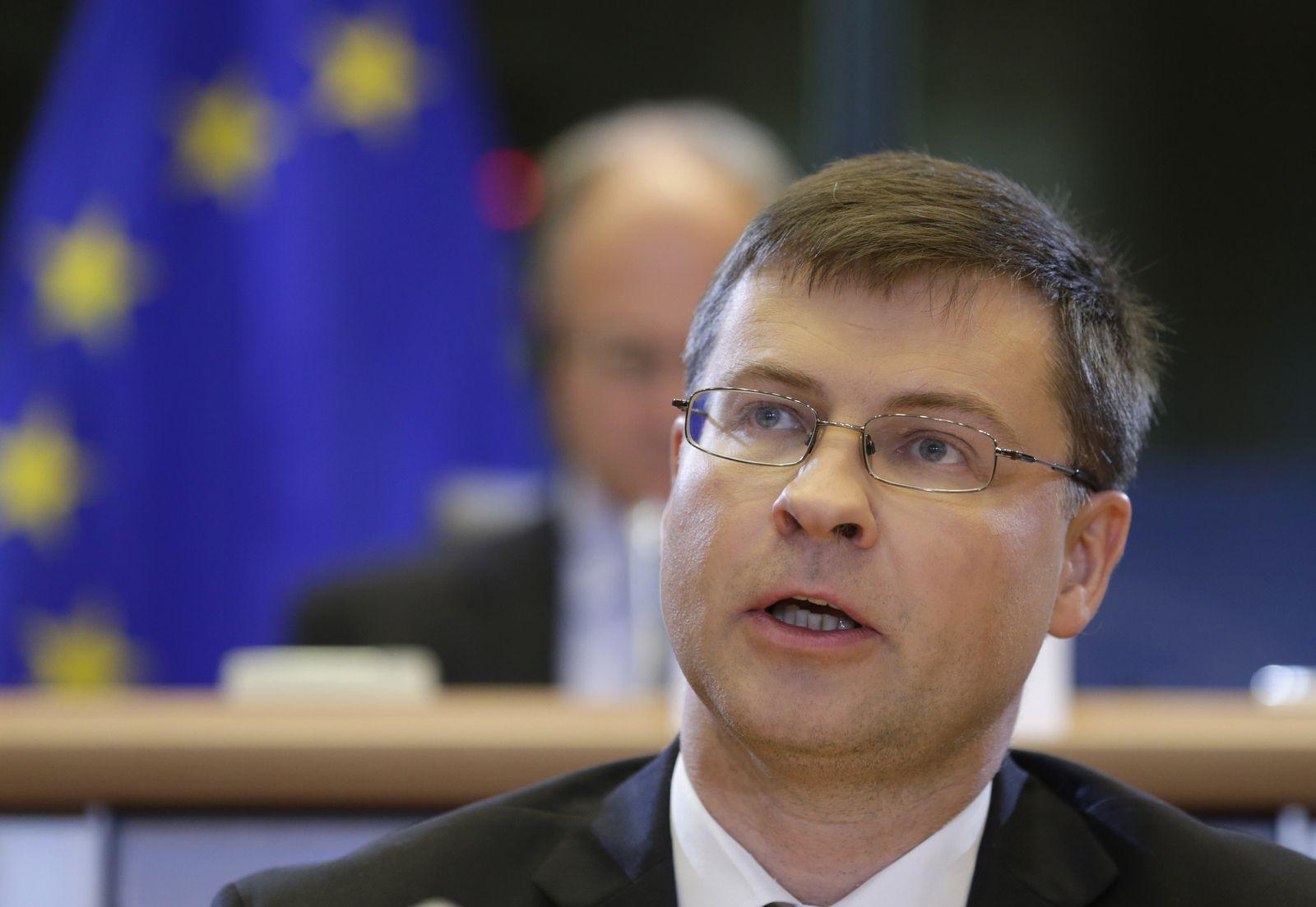 EU-Kommissare/ Dombrovskis