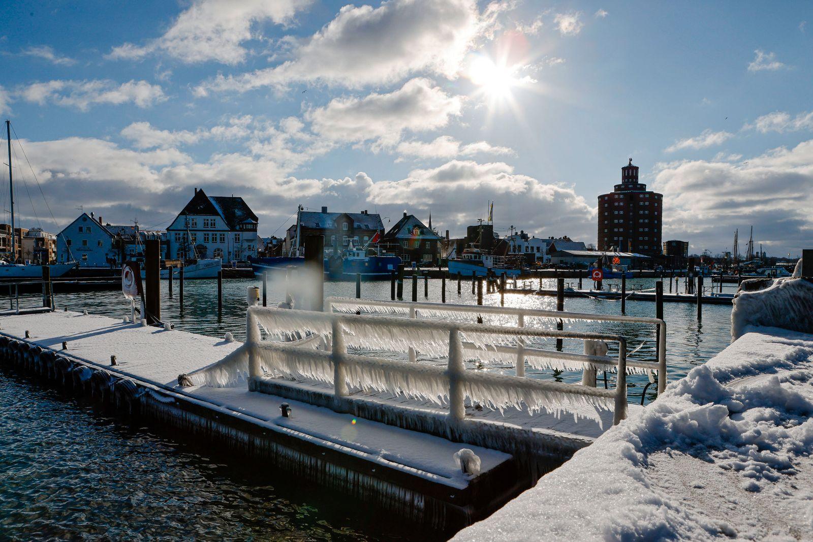 Winterwetter in Schleswig-Holstein