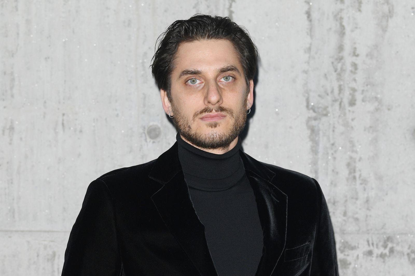Giorgio Armani - Arrivals - Milan Men's Fashion Week Fall/Winter 2020/2021