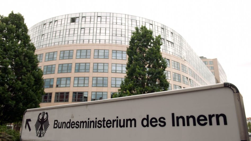 Germany's Interior Ministry in Berlin also ordered the destruction of potentially sensitive files.