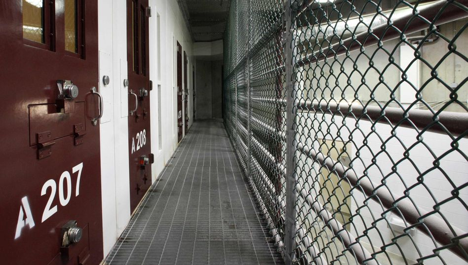 """Zellenblock in Guantanamo: """"Die Arbeit, die Amerika sicher gemacht hat"""""""