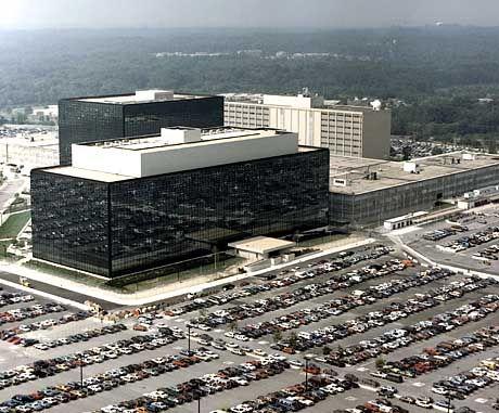 NSA-Gebäude: 55 Megabyte Text