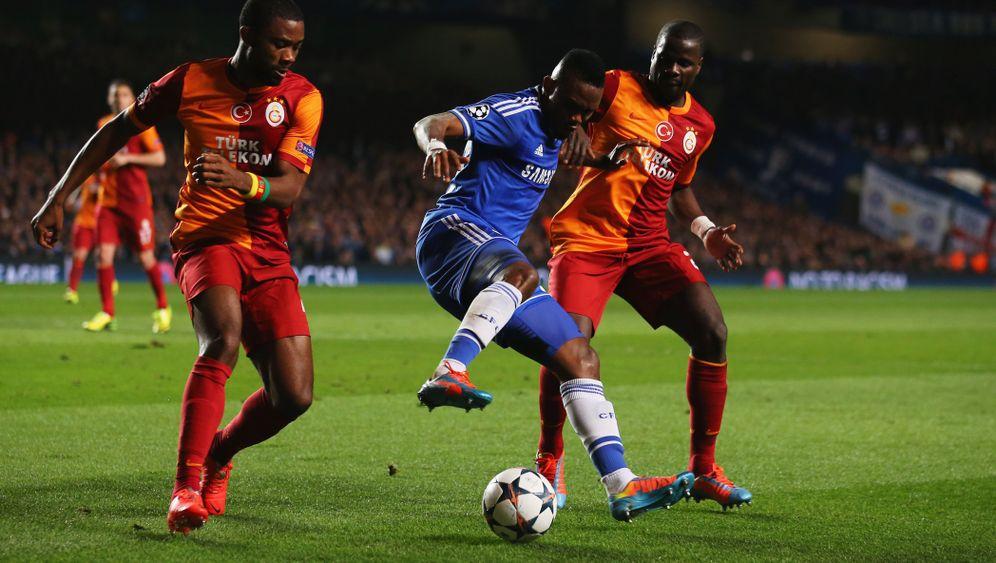 Leichtes Spiel: Eto'o und Cahill schießen Chelsea weiter