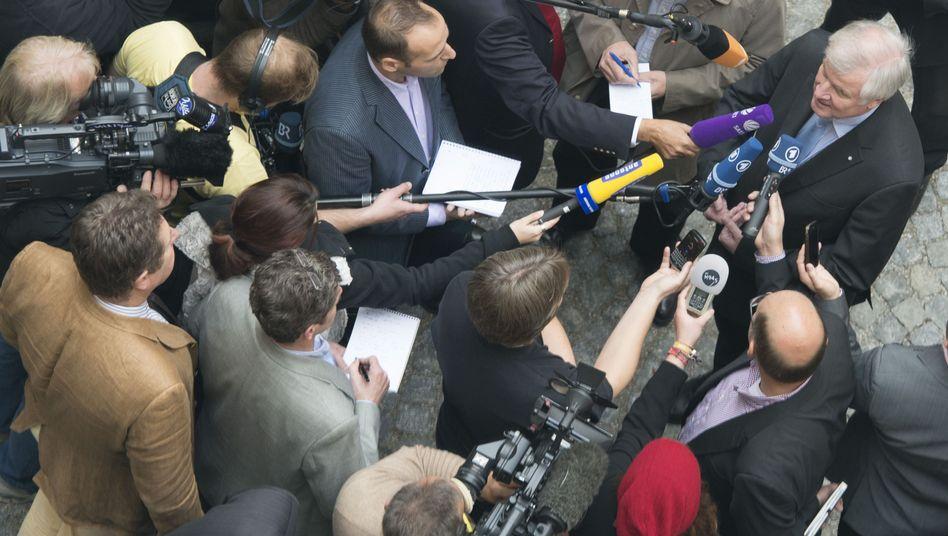 """Ministerpräsident Seehofer am Mittwoch: """"Notfalls selbst das Wort ergreifen"""""""