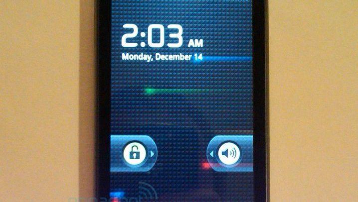 Nexus One: Engadgets Fotos vom Google-Handy