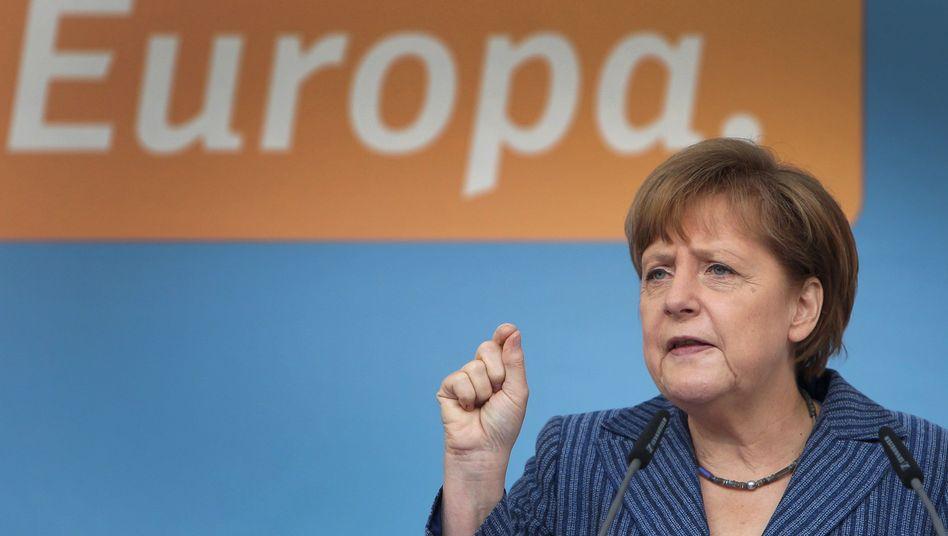 "Merkel im Europawahlkampf: ""Kriegserklärung"" des Europäischen Parlaments"
