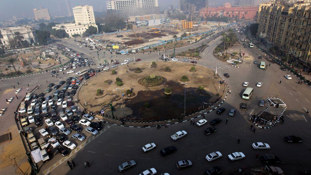 Kairo nach Mubaraks Sturz: Revolutionieren, feiern, fegen