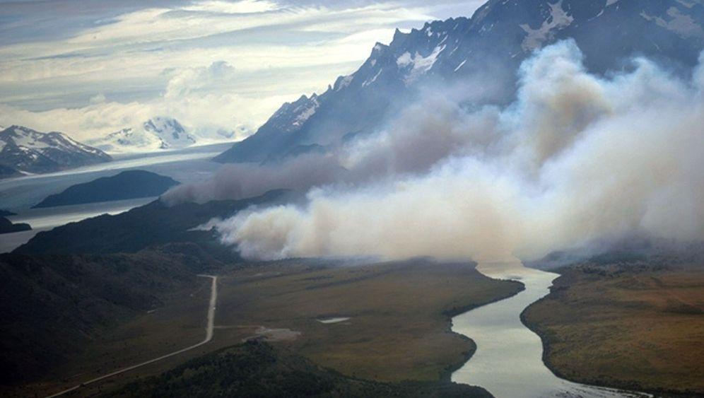Chile: Schwere Schäden durch Waldbrand