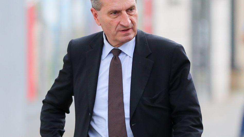 CDU-Politiker Oettinger