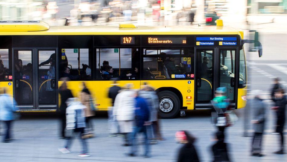 Linienbus in Essen