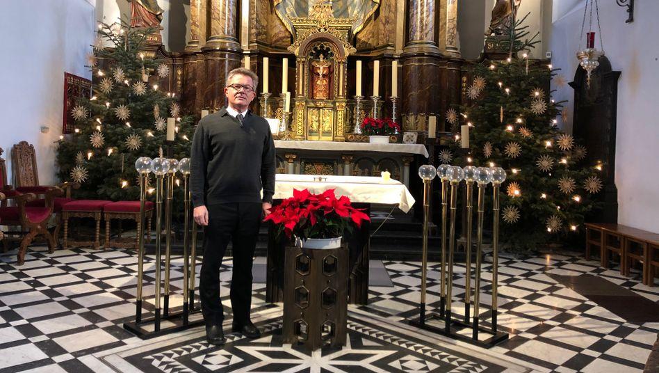Pfarrer Klaus Koltermann aus Dormagen