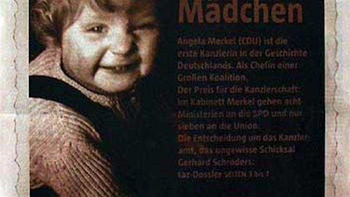 Designierte Kanzlerin Merkel: Die Titelseiten der Zeitungen