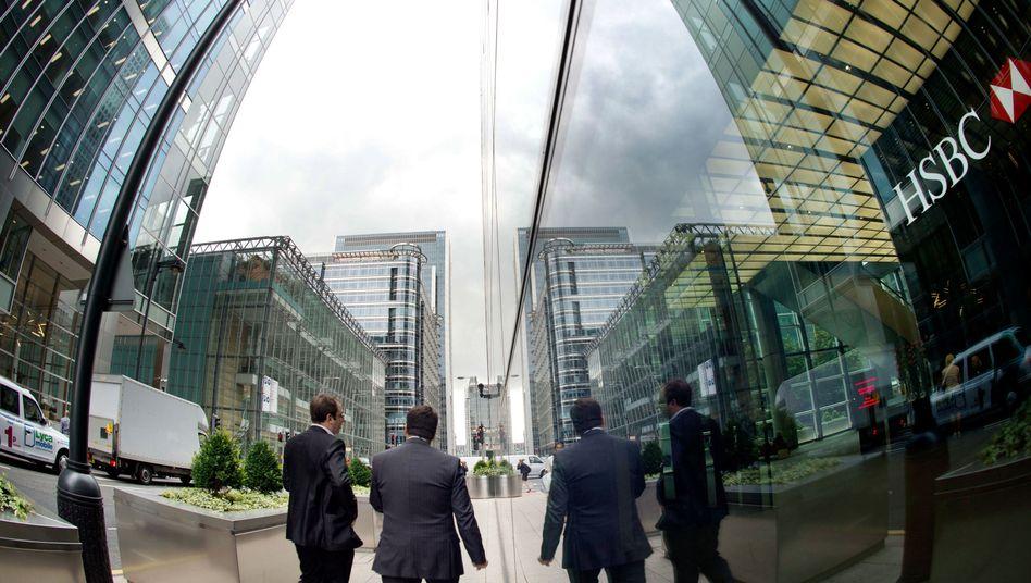 """Finanzdistrikt London: Die Geldstrafe für HSBC ist nur ein """"Klaps auf den Finger"""""""