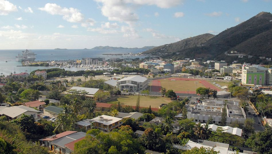 The town of Tortola in the British Virgin Islands: The UK territory is at the center of an explosive new report on global tax havens.