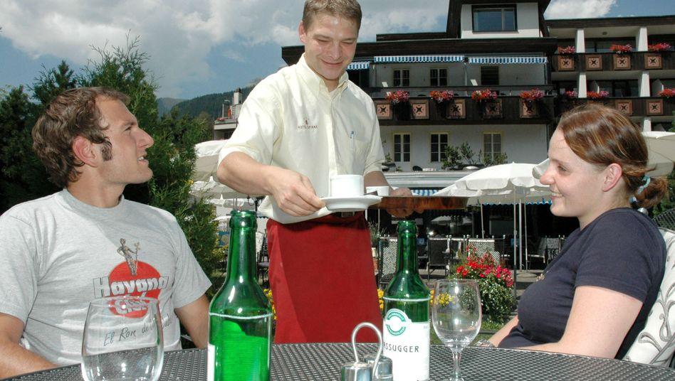 Job im Ausland: Ein deutscher Kellner in der Schweiz