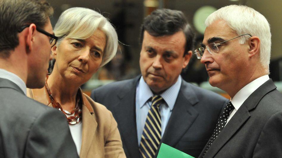 Europäische Finanzminister in Brüssel: Starkes Signal mit hohen Folgekosten