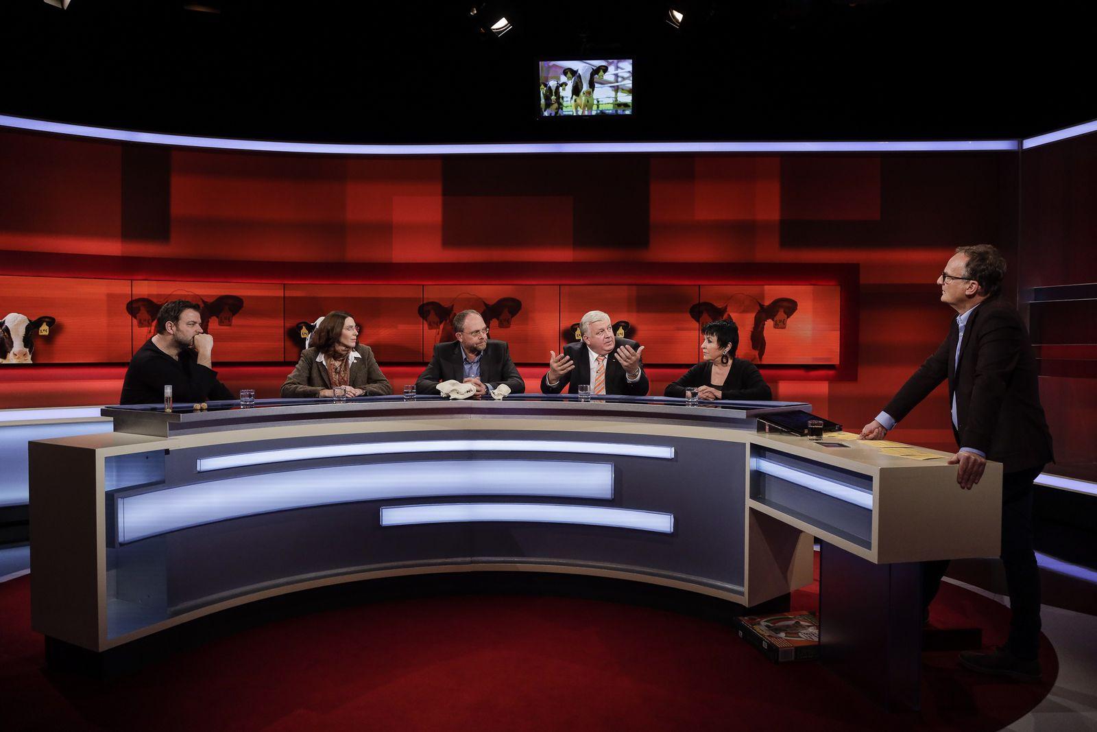 EINMALIGE VERWENDUNG TV/ Hart aber fair 16.12.2019