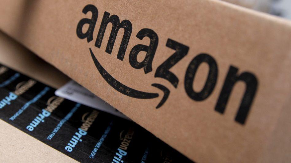 Amazon-Paket (Symbolbild)