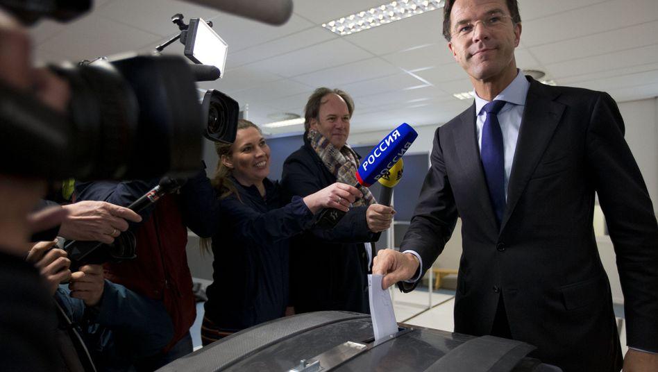 Niederländischer Premier Mark Rutte