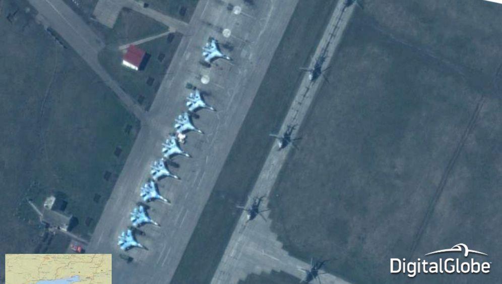 Nato und Russland: Streit um Satellitenbilder