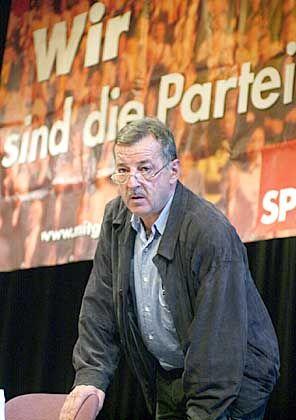 SPD-Kritiker Ottmar Schreiner: Anführer der Gruppe der sechs Abweichler