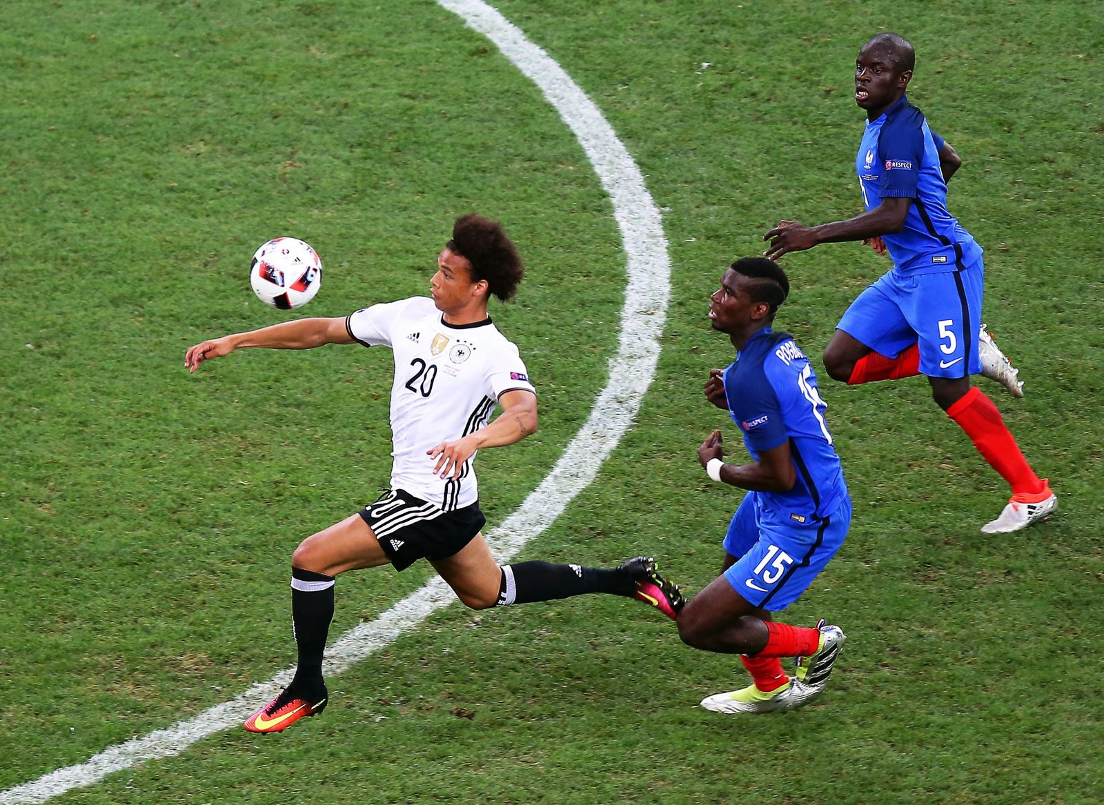 EURO 2016 - Semi final Germany vs France