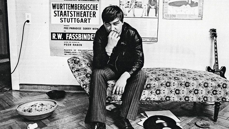 Regisseur Fassbinder in seiner Münchner Kommune 1970: Leichen im Keller