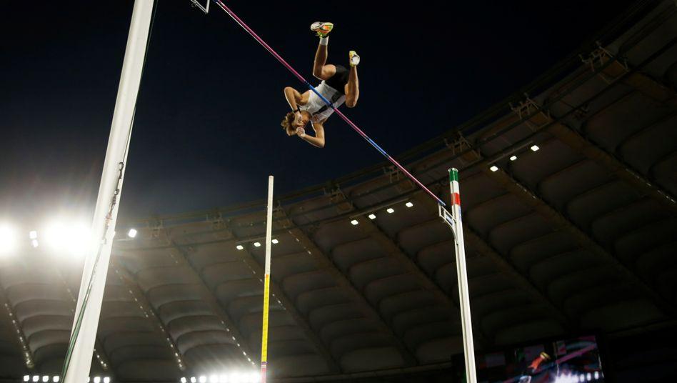 In Rom zum Freiluft-Weltrekord: Armand Duplantis