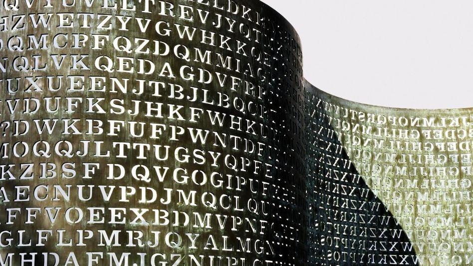 Kryptologie-Rätsel CIA-Statue »Kryptos«
