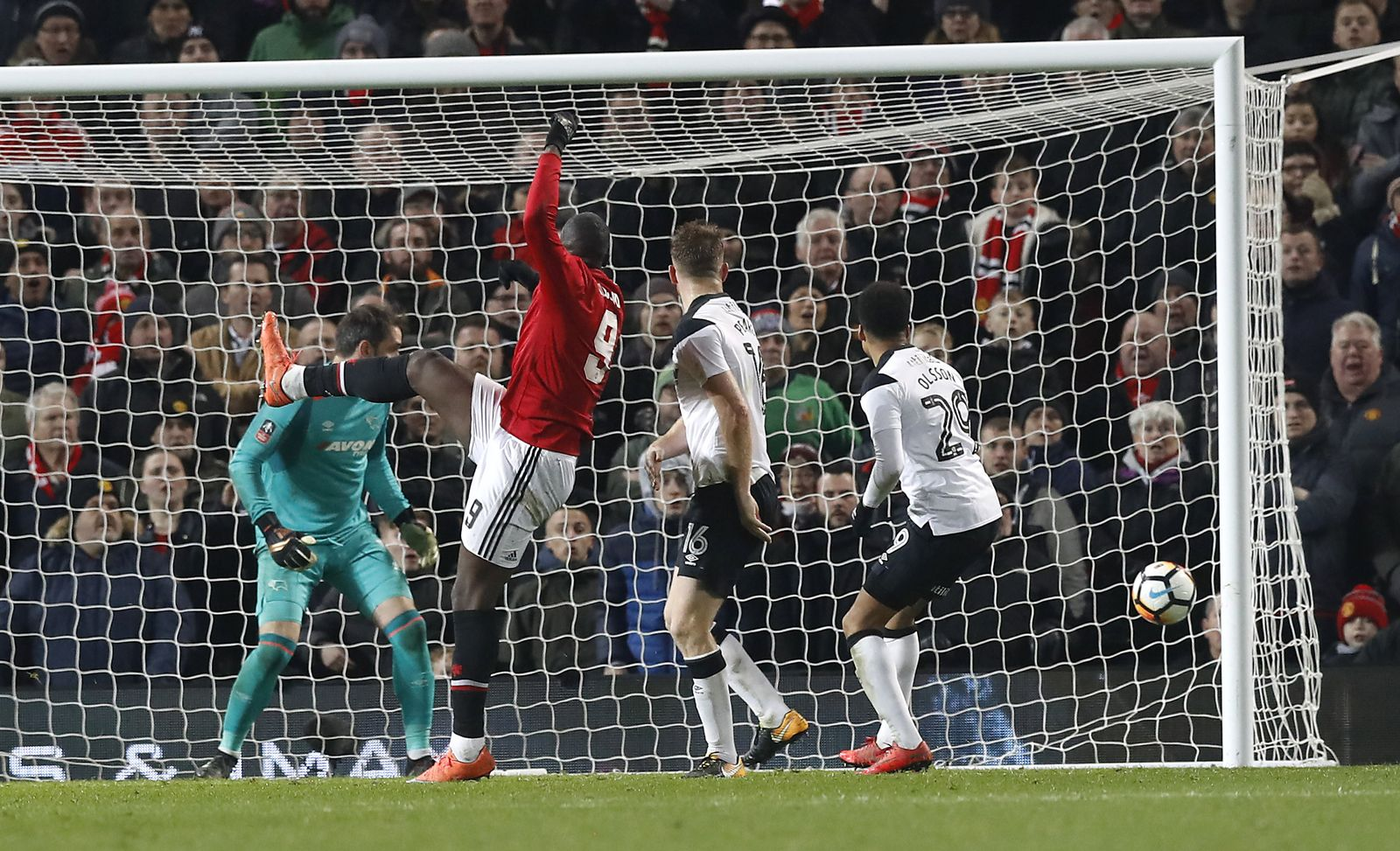 Manchester United v Derby County - FA Cup - Third Round - Old Tra