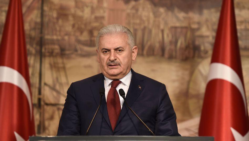 Türkischer Ministerpräsident Yildirim