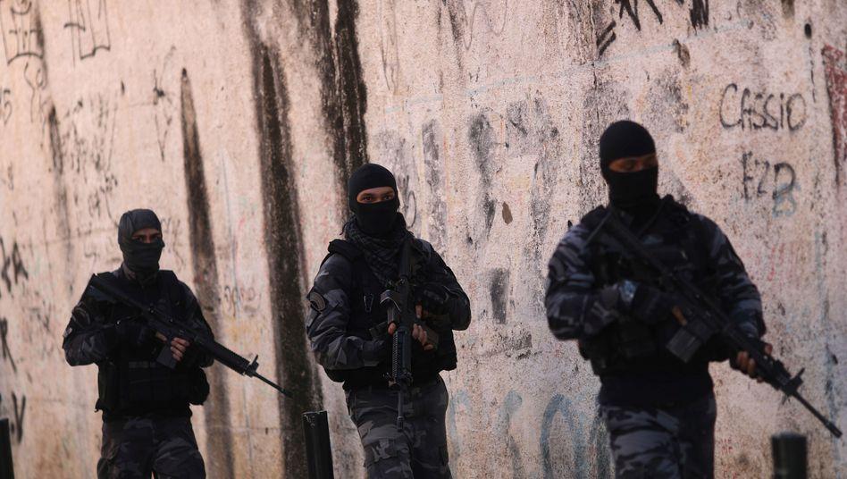Polizeieinsatz in Rio de Janeiro (Juli 2018): Die meisten Opfer sind junge, dunkelhäutige Männer