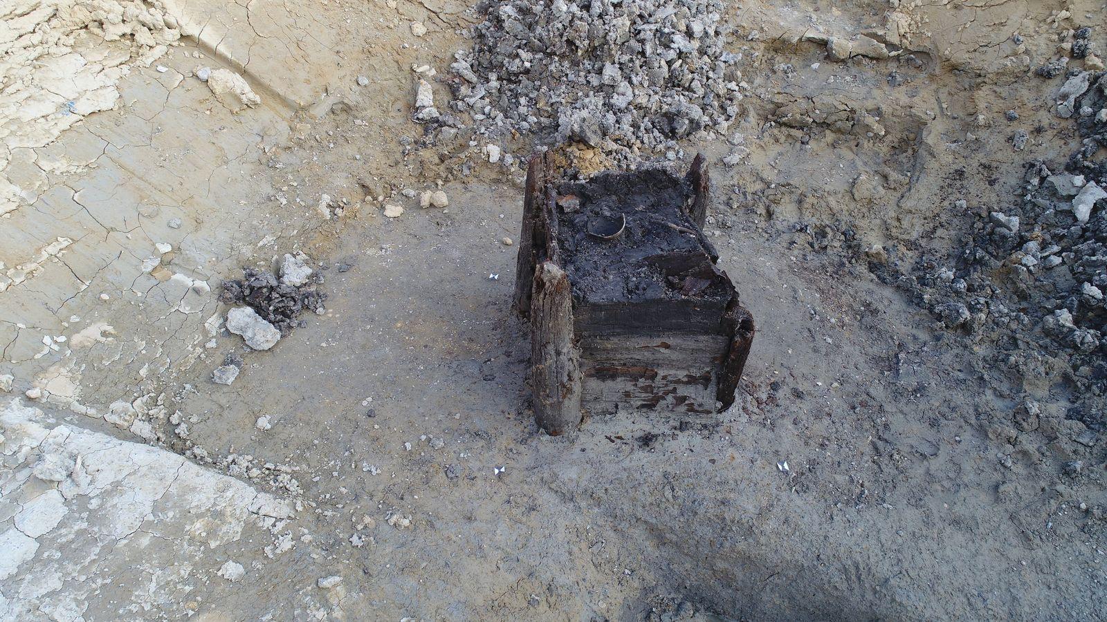 7300 Jahre alter Holzbrunnen entdeckt