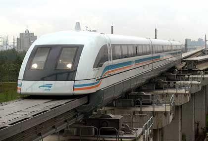 Transrapid in Shanghai: Könnte schon bald gefährlichen Konkurrenten haben