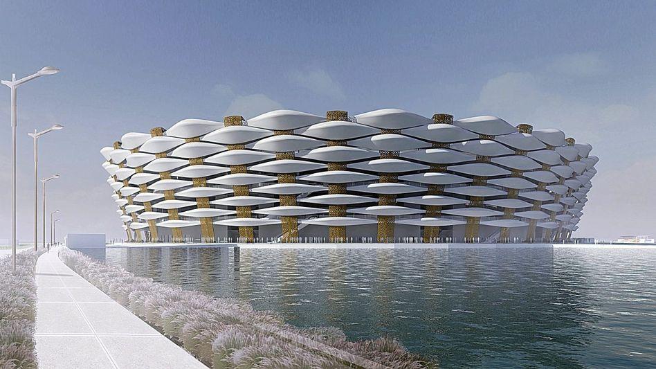Stadion in Basra (Computergrafik)