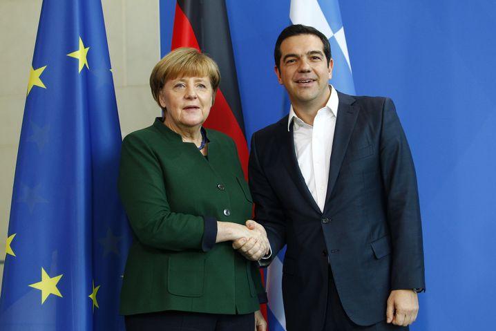Merkel und griechischer Premier Tsipras