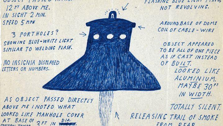 Skurrile Ufo-Zeichnungen: Sie kommen, um uns zu holen