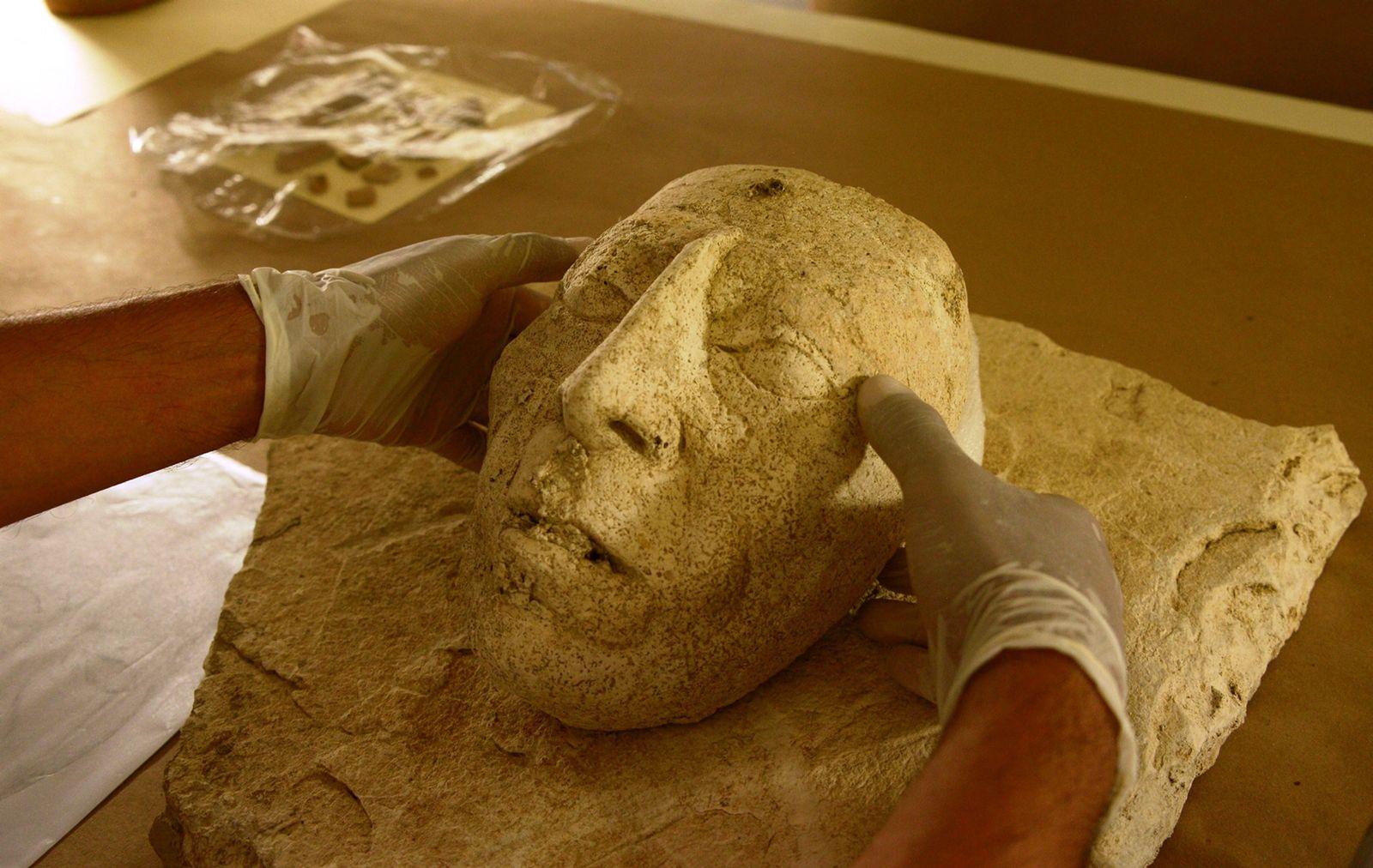 Palenque Maske Pakal