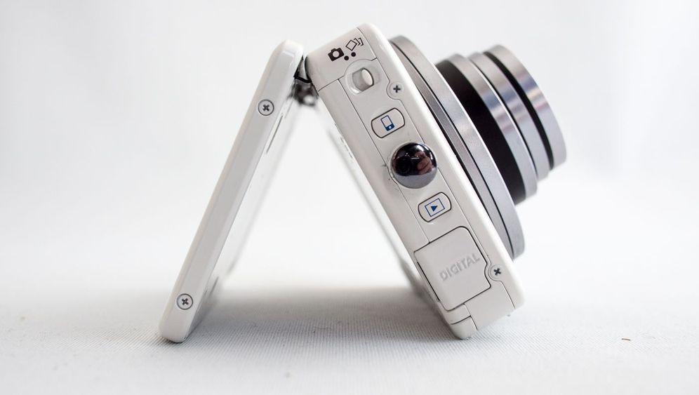 Canon Powershot N: So fotografiert die Klappkamera