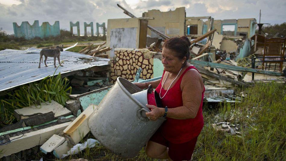 """Schäden durch Hurrikan """"Irma"""" in Kuba"""