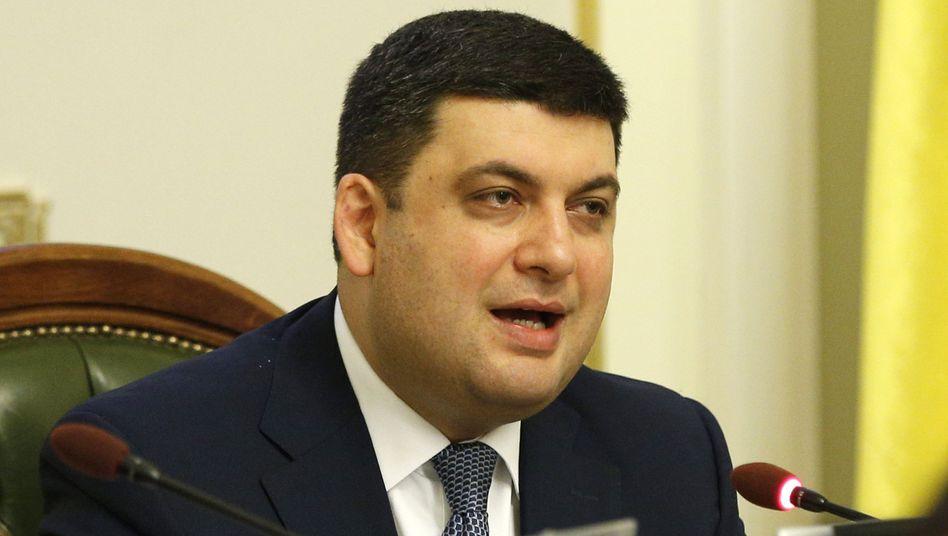 Regierungschef Wolodymyr Hrojsman