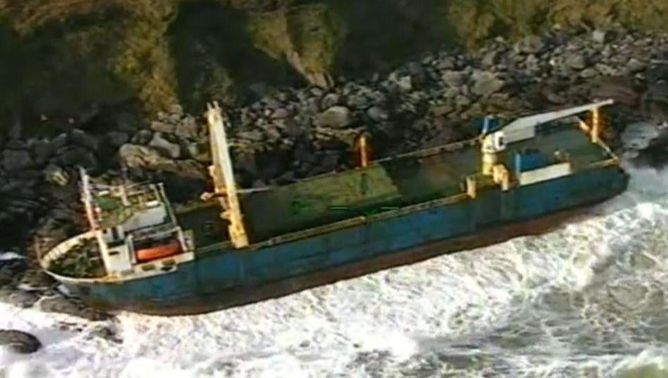 """Verlassenes Frachtschiff """"MV Alta"""" nahe Ballycotton: Unbemannte Atlantikquerung"""