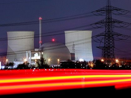 """A nuclear power plant in Biblis, Germany: """"The proliferation of weapons-grade material is my main argument against nuclear energy."""""""