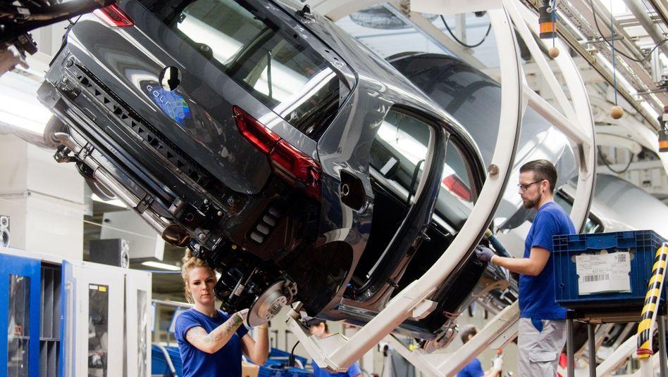"""VW-Golf-Produktion in Wolfsburg: """"Sahnehäubchen"""" möglich"""