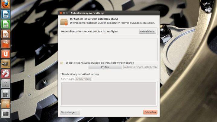 Update: Der Schritt zu Ubuntu 12.04