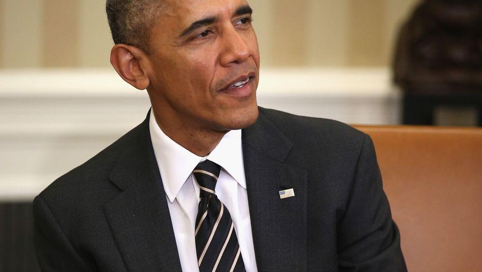 """US-Präsident Obama: """"Die Verhandlungen haben Fortschritte gemacht"""""""