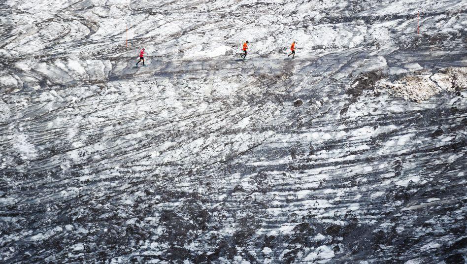 Tsanfleurongletscher in der Schweiz